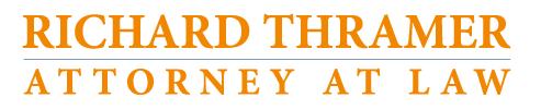 Richard Thramer Law Logo